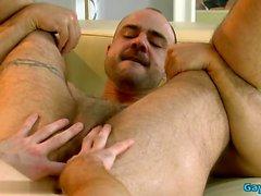 Tattoo Homosexuell Flip Flop mit Gesicht