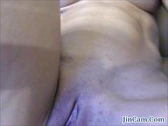 Fitness girl masturbates toy live webcam