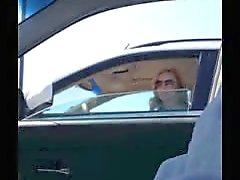 A few women take a look-car flash