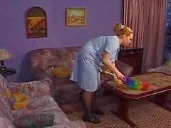 Ein Zimmermädchen