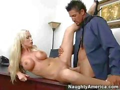 Nikki Benz - Desk Sex