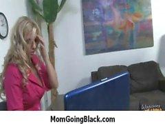 Mom going black - hard interracial porn 31