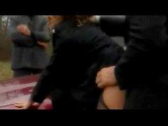 Sexy жене Даниель трахается во время муж смотрит