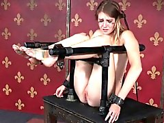 Bonded submissa chokeplay Ashley Lane,