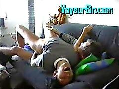 Hot latina gets fucked hard on hidden cam