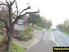 British amateur assfucked on cops bonnet