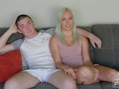 Teen MMA Cage Fighter Fucks Blonde With Nice Tits.