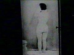 Retratos de ojo de cerradura - vintage