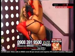 Toya In Glasses & Feather Boa On Babestation (With Lori Buckby), Part 1