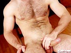 Hairy Geck spreng seine Eier part2