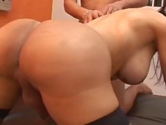 Tranny is desperate for raw anal