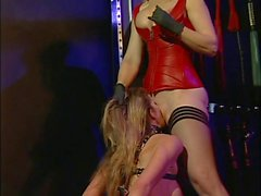 Hardcore Nina fucking two hot chicks