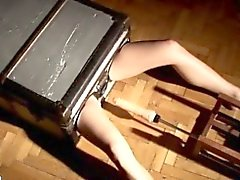 Herrn Grauer im Porno-Film darstellt für BDSM Fetisch makinglove