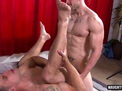 Big Dick Homosexuell anal Sex mit abspritzen