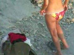 Hot hiddencam Beach Fuck