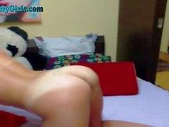 Incerdibly Hot Webcam Girl Dildos To Orgasm