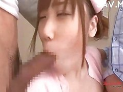 Japanese nurse cock sucker