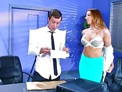 Brazzers - Juelz Ventura gets some office dick