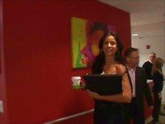 Janessa Brazil - Howard Stern TV - Groped By Gary The Retard