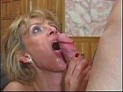 Busty MILF anal