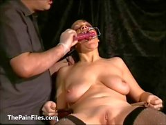 Face punished mature slave Chinas dental gagged sa