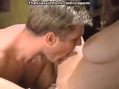 Nikki Dial, Woody Long in hard office sex on classic porn