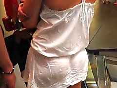 VPL delicious #44 (see thru dress) & Upskirt from heaven