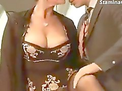 milf mature fucking up in stocking and heels
