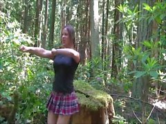 In the Woods Cheerleader - Erin Electra , ElectraChrist ( kesim)