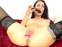 Webcam German Hot Girl Masturbate Anal Dildo