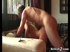 Blonde British Hookers In A Threesome