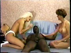 Vintage mature interracial fuck scene at Porn Yeah