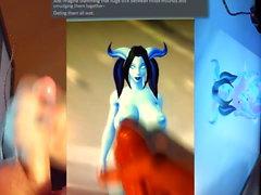 Cum Tribute an Alecia (Draenei World of Warcraft)