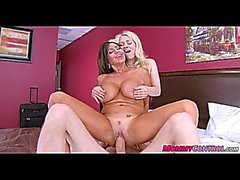 Stepmom wishes group sex with nubiles 01
