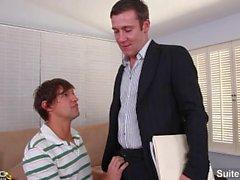 Verheiratet großes Stück wird von einem Homosexuell gefickt