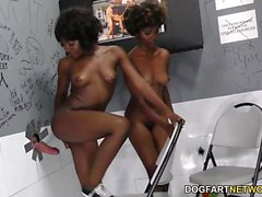 Noemie Bilas and Daizy Cooper - Gloryhole