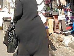 Del asno Arabes franca - Big Nalgas - calle de Voyerista - botín de maduro
