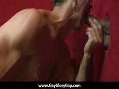 Homosexuell Kern Glory Hole Geschlechts Pornos und unangenehme Homosexuell Handjob 23