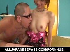 Miriya Hazuki has jugs sucked and cunt fucked