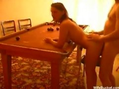 Pool table fuck
