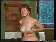 Gisele is a hot redhead granny