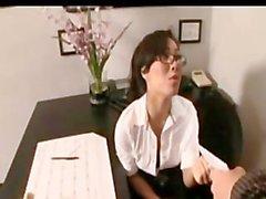 Asa Akira secretary sex