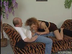 German girl fucks like a pro