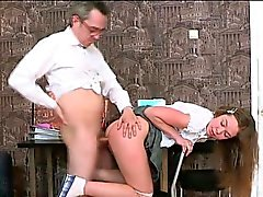 Relações sexuais 3some com o professor de