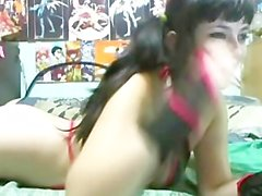 Great exciting teenaged hot babe having part2