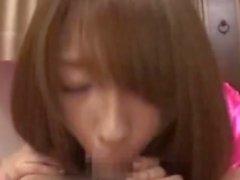 Shiori Kamisaki Cumming com Masturbação