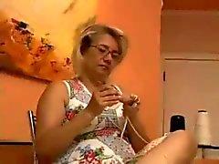 BBW Latina granny anal bbc63