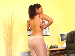 Pantyhose and exotic stripping only