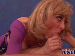 Kinky masseuse enjoys getting rammed