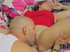Melanie Hicks & Madisin Lee in Mom Daughter Suck Cock